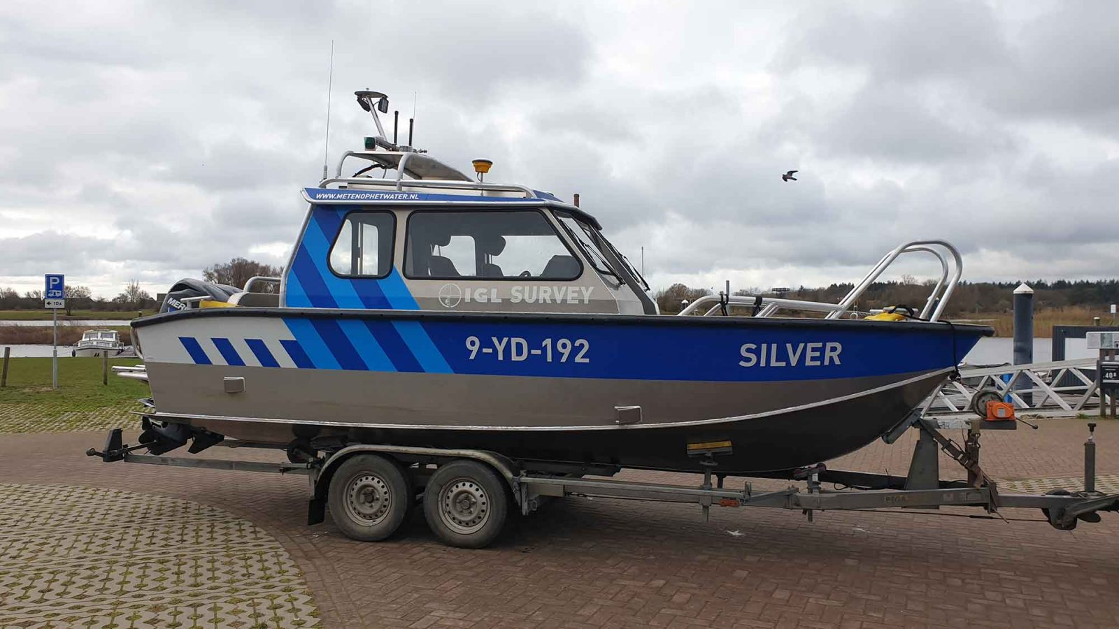 Meetboot Silver