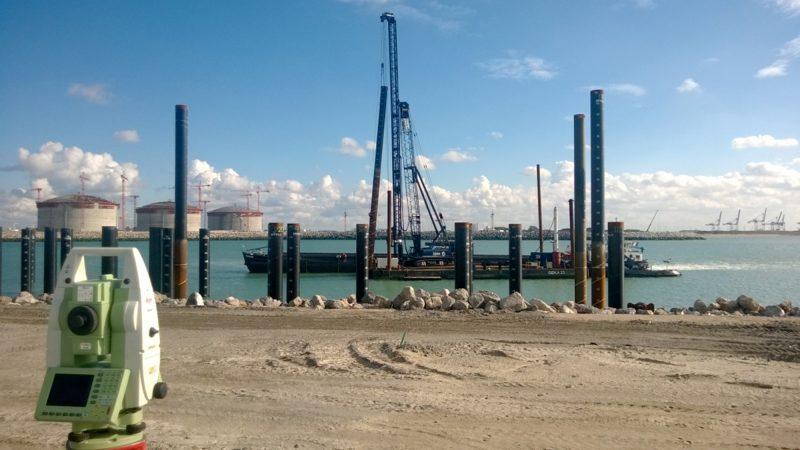 Natheiwerk En Projectmaatvoering LNG Terminal Te Duinkerken